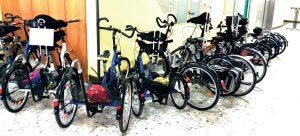 Spendenprojekt-Fahrradhaus-Therapieräder